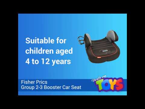 Fisher Price Group 2 3 Booster Car Seat