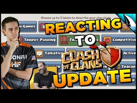 Reacting To Clash Of Clans Update Video!! October Update QoL Changes