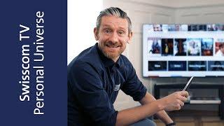 So wird dein TV noch persönlicher – Das neue Swisscom TV mit Personal Universe