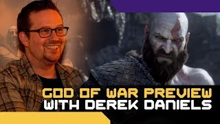 Kratos feels more human than ever, and it's amazing - God of War preview event