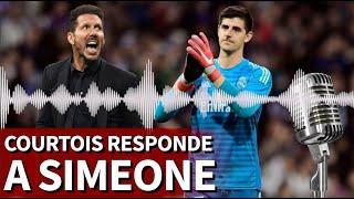 Courtois responde a Simeone: