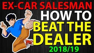 How To Beat Car Dealers