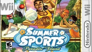 Longplay of Summer Sports: Paradise Island/Sports Party