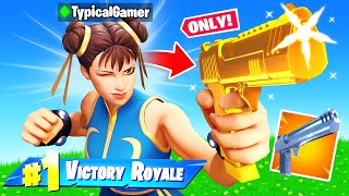 The HAND CANNON *ONLY* CHALLENGE in Fortnite! (IMPOSSIBLE)
