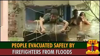 People Evacuated Safely by Firefighters from Floods in Anna Nagar spl hot tamil video news 02-12-2015