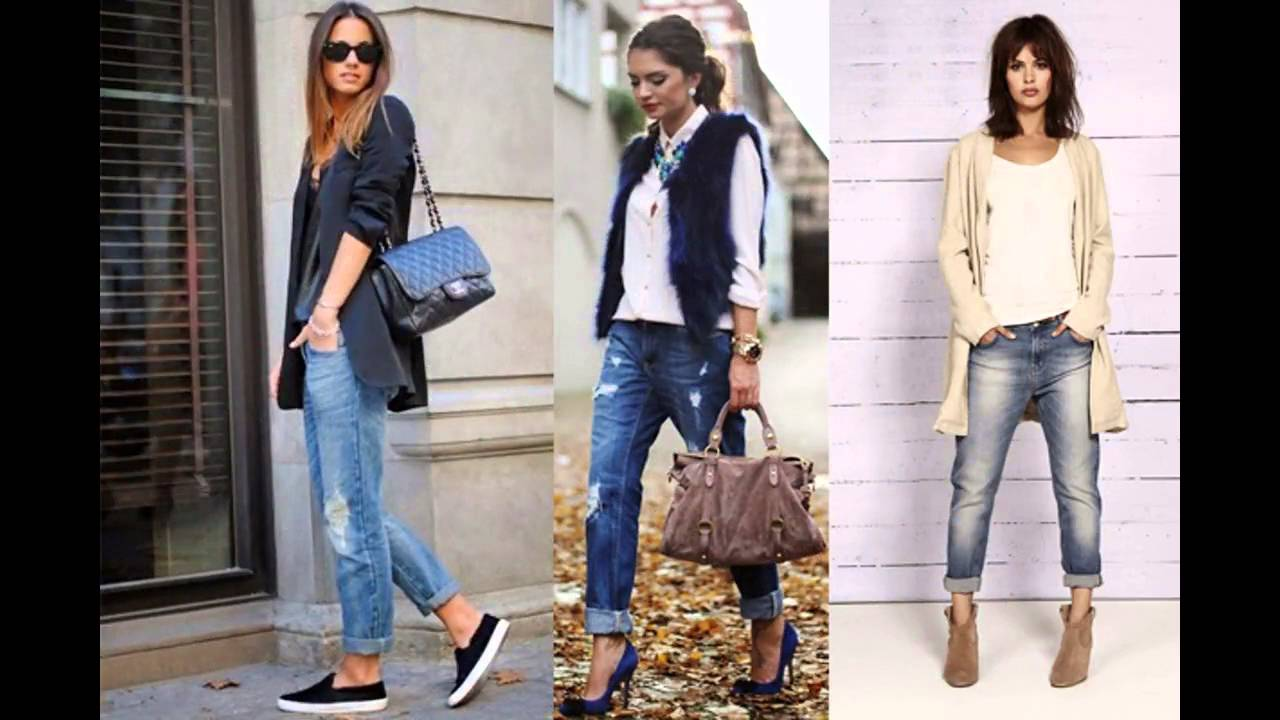 Outfits Con Jeans Y Botines Youtube