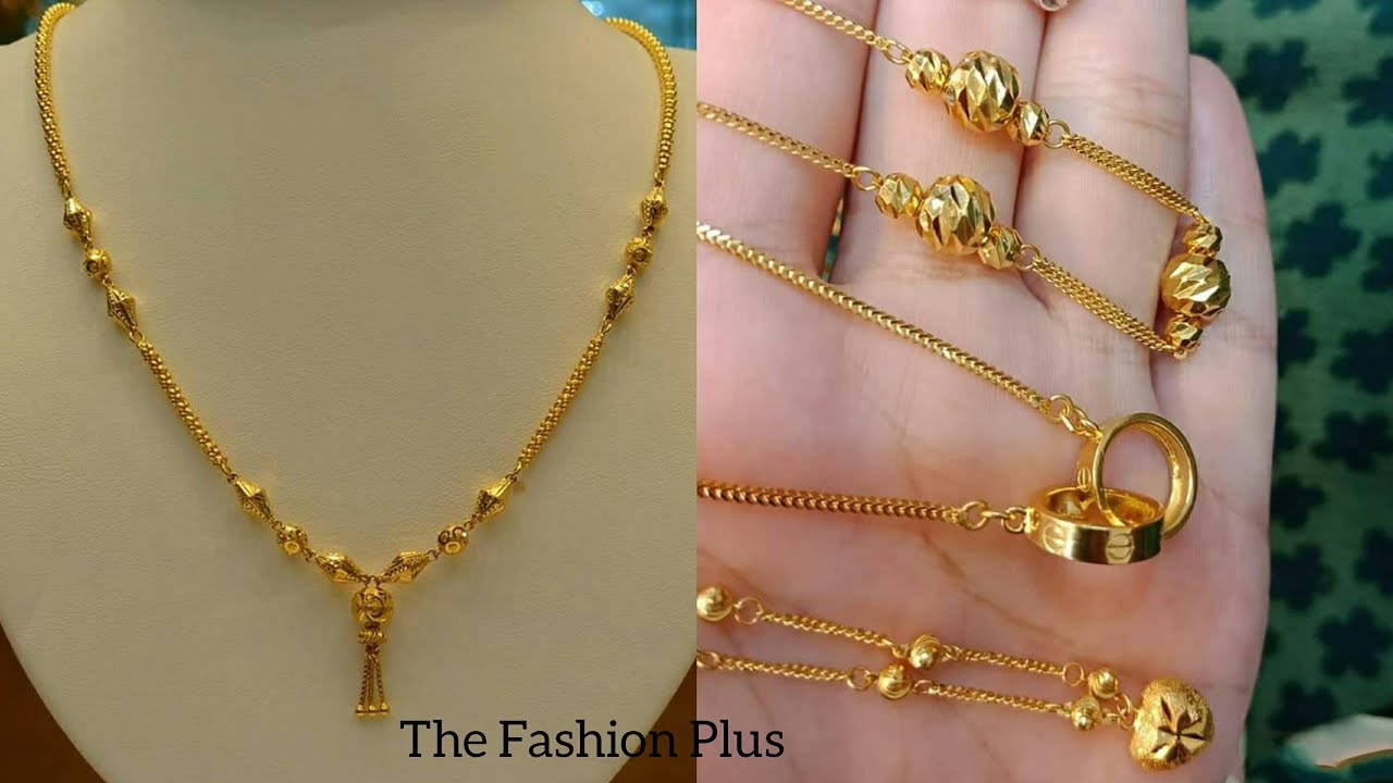 Light weight gold chain necklaces designs for daily wear youtube light weight gold chain necklaces designs for daily wear aloadofball Image collections