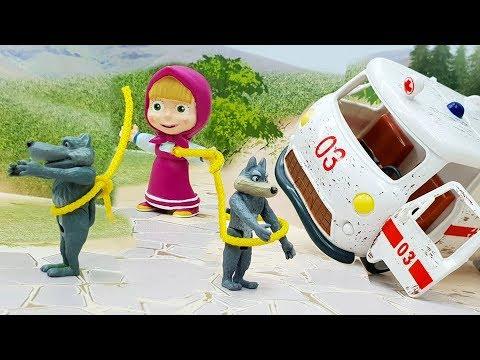 Видео для детей с игрушками - Воспитательница. Новые игрушечные мультфильмы 2018