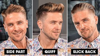 3 Quick and Easy Hairstyles for Men | Summer 2020