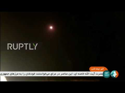 Iran: Ground-to-ground missile launched by Iranian Guard on Deir Ez-Zor region, Syria