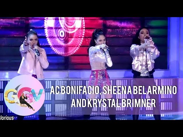 GGV: AC, Sheena, and Krystal perform Little Mix's Power