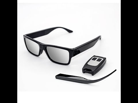 Excelvan camera glasses HD spy raw footage video test review from YouTube · Duration:  15 minutes 10 seconds