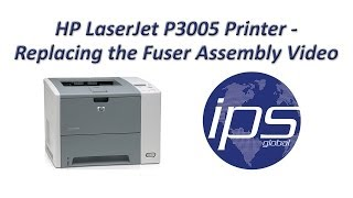 HP P3005 - Replacing the Fuser Assembly Video