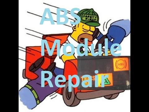 """DIY Repair """"kind of"""" volvo ABS and tracs 96 models."""