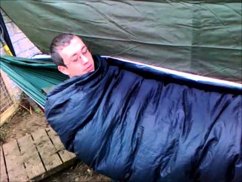 A winter hammock setup (Keeping warm in a hammock) - A Winter Hammock Setup (Keeping Warm In A Hammock) - YouTube