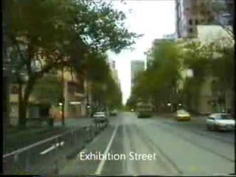 Mont Albert to Port Melbourne 1997