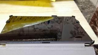 소니 엑스 페리아 Z2 태블릿 케이스 Case for Sony Xperia X2 Tablet Popbanana Simple Standing case