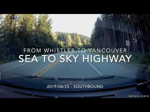 Sea To Sky Highway (BC Highway 99) - Southbound