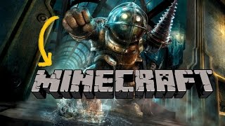 Minecraft/ how to make Big Daddy suit from Bioshock