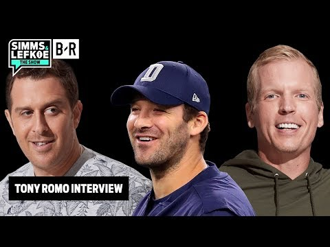 Tony Romo Compares Sam Darnold to Peyton Manning — FULL Simms & Lefkoe: The Show Interview