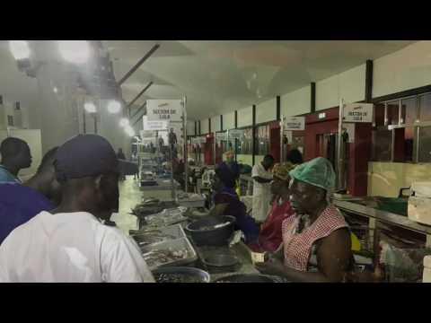 Fish Market in Maputo, Mercado de Peixe