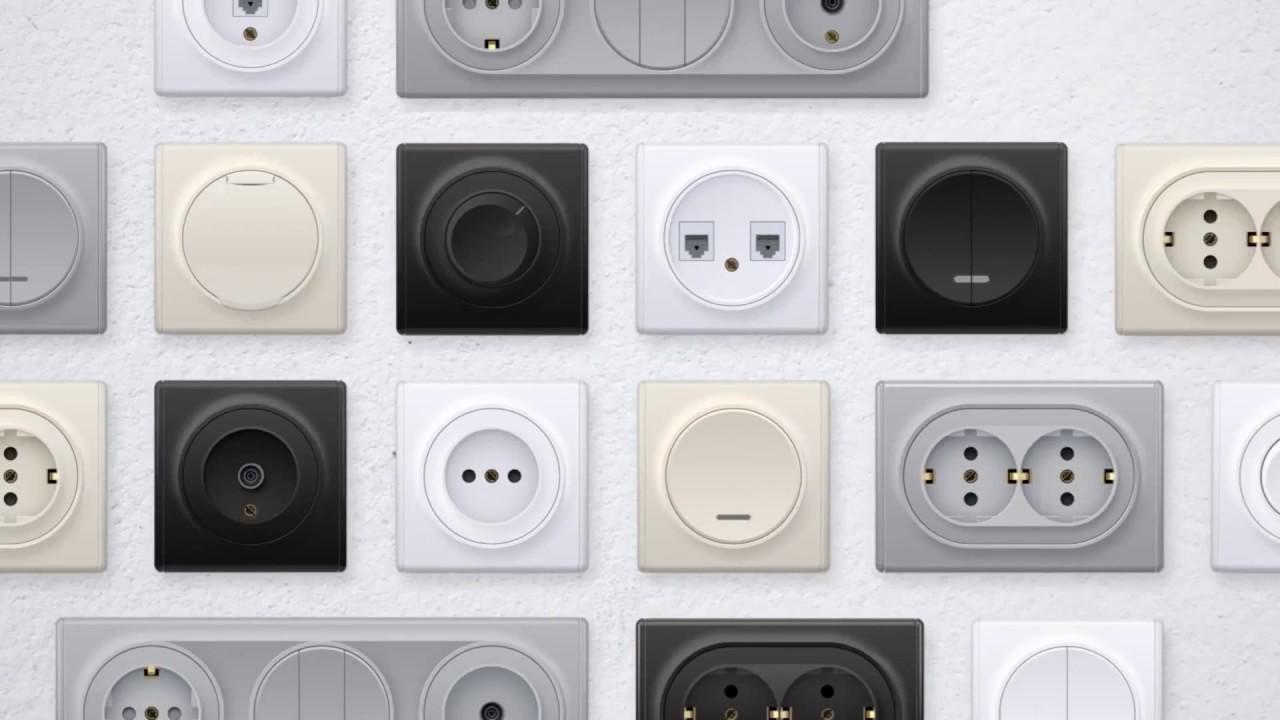 Florence дизайнерские электроустановочные изделия