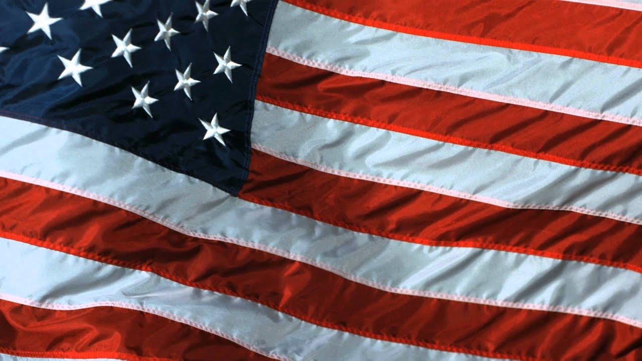 American Flag Slow Motion US Waving Flying Flag taken on ... American Flag