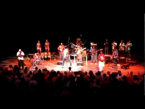 Seun Kuti & Egypt 80 live at Manuel Artime Theater - Miami July 2011