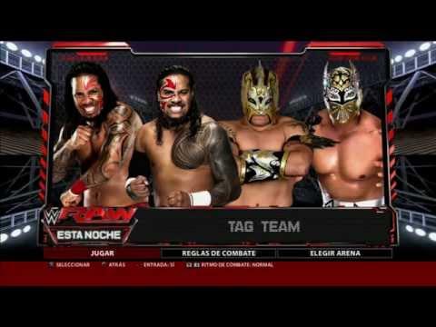 WWE 2K16 (PS3)  The Usos vs Lucha Dragons Tag Team Match