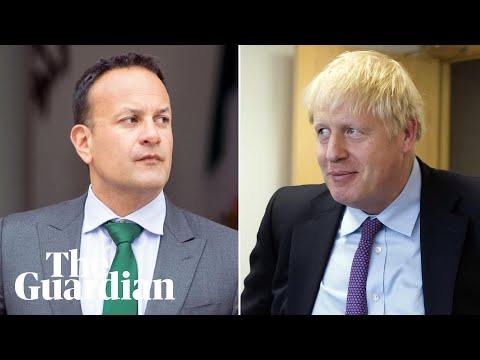 Boris Johnson meets Irish PM Leo Varadkar for Brexit talks in Dublin – watch live