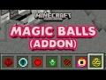 MAGIC BALLS IN MCPE 1.0 (WIZARD SPELLS)|Minecraft PE (MCPE) Mod/Addon Review