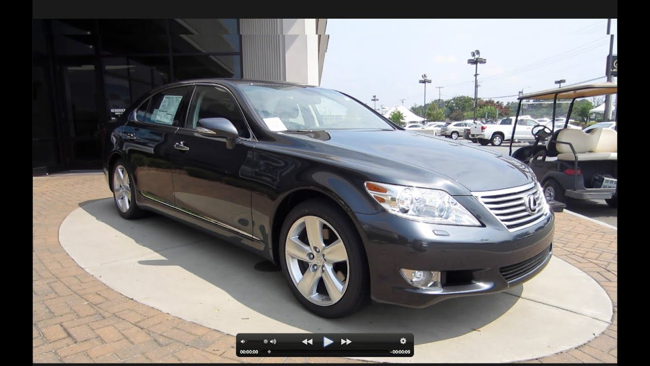 2011 Lexus LS460 L Start Up, Engine, And In Depth Tour   YouTube