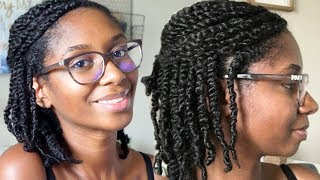 Natural Hair | Mini Twists | Step by Step + Tips