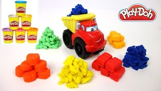Play Doh Dump Truck - Tonka Construction Truck for Children