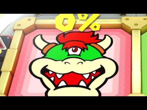 Super Mario Party MiniGames - Mario Vs Luigi Vs Bowser Vs Bowser Jr (Master Cpu)