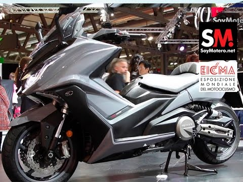 kymco ak 550 2017 (eicma 2016) - youtube
