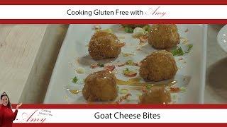 Gluten Free Crunchy Goat Cheese Bites