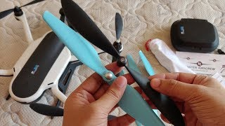 Master AirScrew Gopro Karma Propellers Unboxing and Review