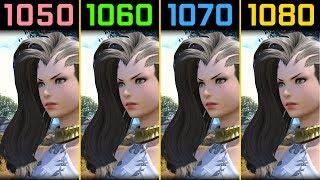 Final Fantasy XIV GTX 1050 Ti vs. GTX 1060 vs. GTX 1070 vs. GTX 1080 [1080p]