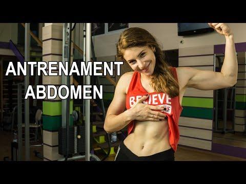 Antrenament Abdomen   Tonifiaza-ti abdomenul