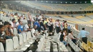 جماهير الزمالك تهاجم شوبير في مباراة ديكاداها الصومالي