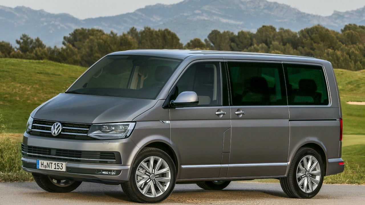 2016 volkswagen t6 multivan highline 4motion drive and design youtube. Black Bedroom Furniture Sets. Home Design Ideas