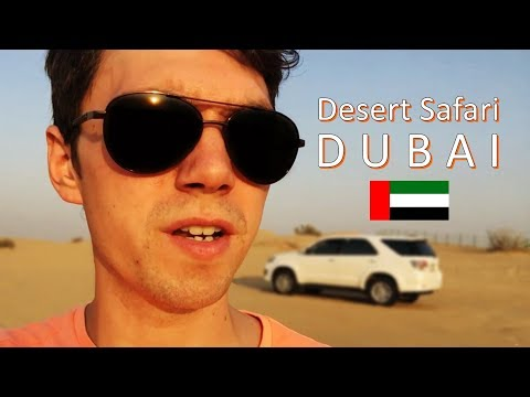 come on a DUBAI DESERT SAFARI !! || Dubai Vlog #4