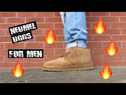 da3c1b5d03e Chestnut Men's UGG Neumel Shoe REVIEW + ON FOOT