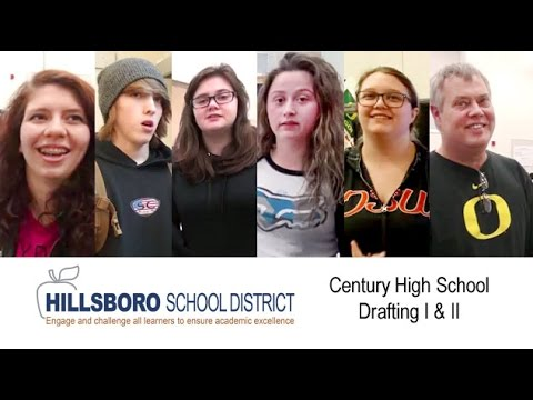 Century High School Drafting I and II, Hillsboro School District