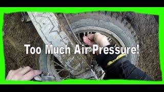 Too much air pressure!  Maico 500 (Dirtbike Riding: S1 E15)