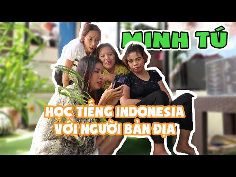Minh Tú học tiếng Indonesia , debut cùng nhóm bạn người Bali || MINH TÚ Official