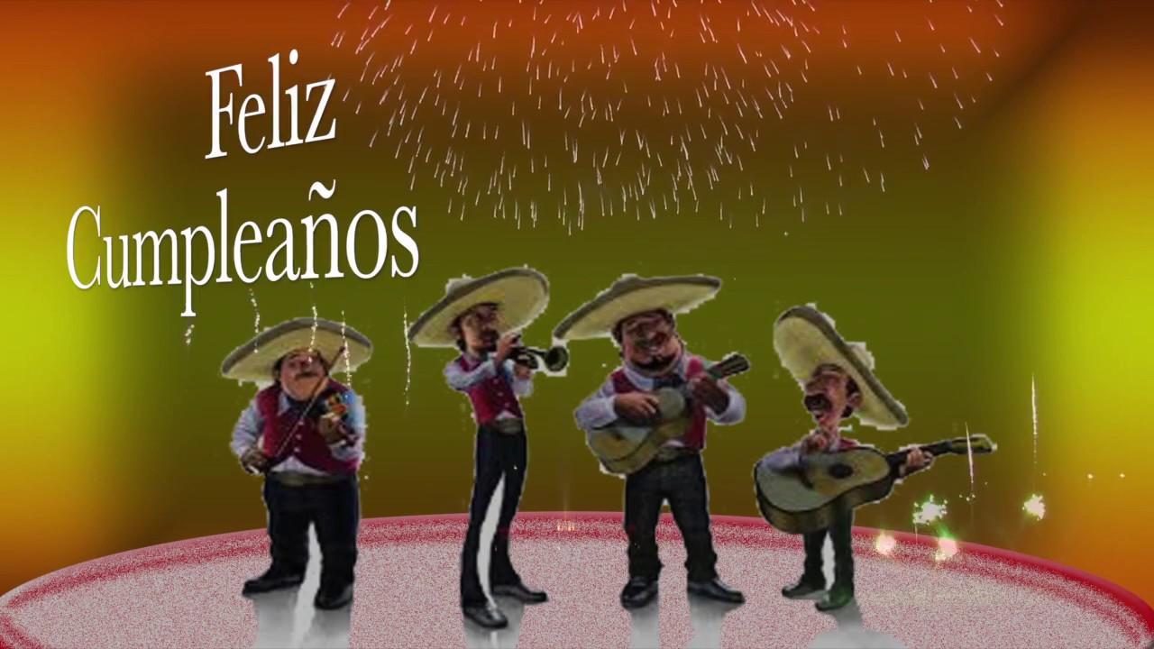 Feliz feliz cumpleanos mariachi
