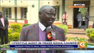 Lifestyle audit in Trans Nzoia County #CitizenExtra