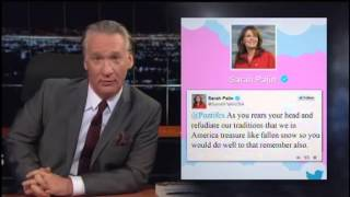 Maher Acts Out Pope v. Palin: